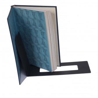 - Dekoratif Metal Sihirli Kitap Tutucu, Metal Kitaplık (Siyah) (1)