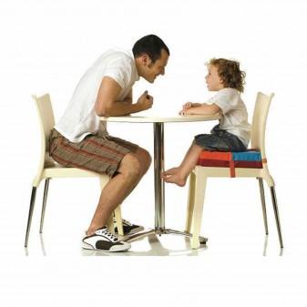 Svava Mama Sandalyesi Yükseltici Minder - Çocuk Sandalye Yükseltici Minder (Çok Renkli) - Thumbnail