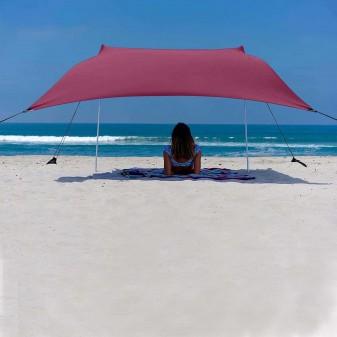 - Svava Plaj Gölgelik Tente - Kamp Gölgeliği (Fuşya)