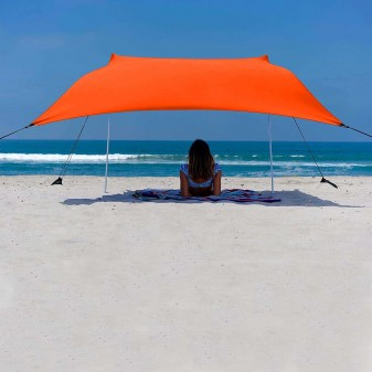 - Svava Plaj Gölgelik Tente - Kamp Gölgeliği (Turuncu)