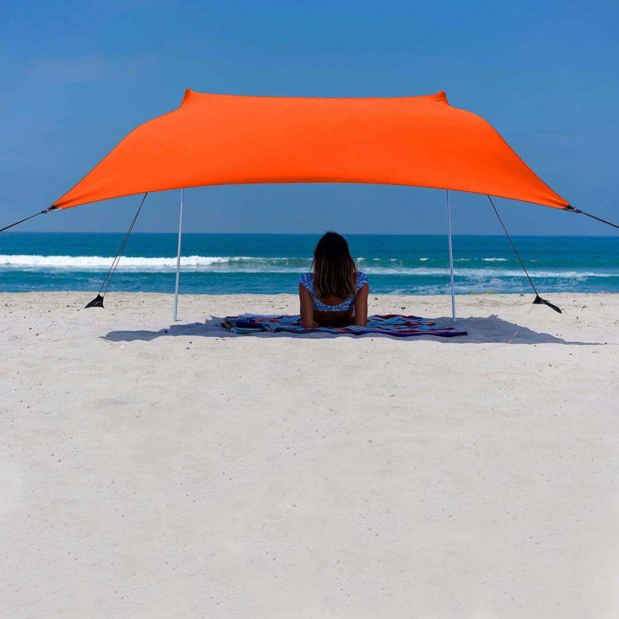 Svava Plaj Gölgelik Tente - Kamp Gölgeliği (Turuncu)