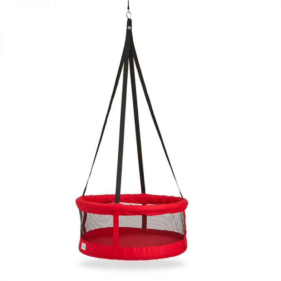 Svava Sepet Salıncak - Tavana Asılan Çocuk Salıncak (Kırmızı)