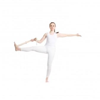 Yoga Kemeri, Organik Pamuk Yoga Kayışı (Boyasız) (5)