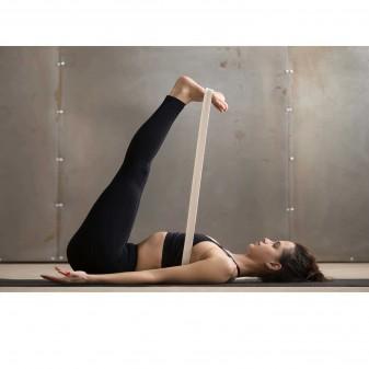 Yoga Kemeri, Organik Pamuk Yoga Kayışı (Boyasız) (6)