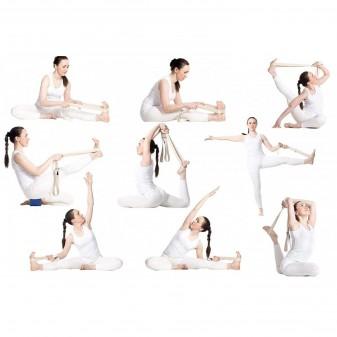 Yoga Kemeri, Organik Pamuk Yoga Kayışı (Boyasız) (3)